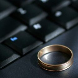 Wedding ring keyboard